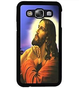 ColourCraft GOD Jesus Design Back Case Cover for SAMSUNG GALAXY E5