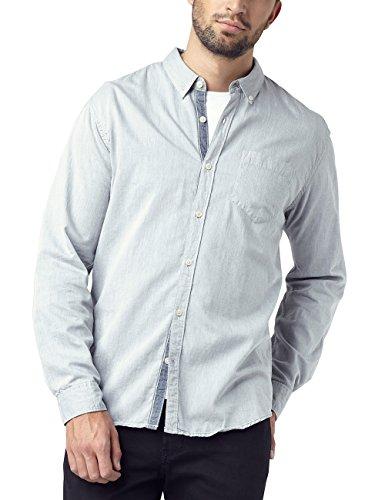 Pioneer Herren Freizeithemd Uni Hemd, Grau (Gray 155), 53 (Herstellergröße: 5XL) Preisvergleich
