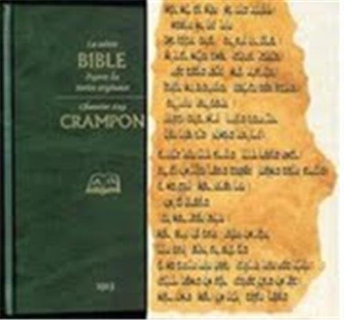 La Sainte Bible, Crampon