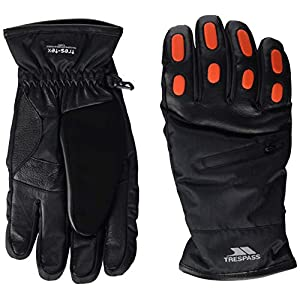 41kA 2KdVHL. SS300  - Trespass Men's Argus Warm Padded Waterproof Gloves With Knuckle Protectors