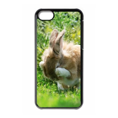 TOPDIY Customized Phone Case for iPod Touch 6 with Bunny Complex