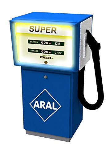 Viessmann 1364 Zapfsäule Aral mit LED Beleuchtung Spur Ho 1:87