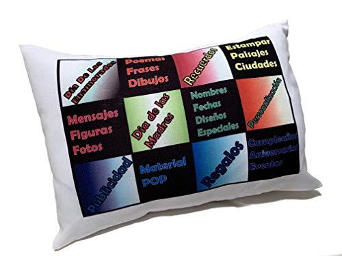 Yisama - federa per cuscino personalizzabile, con imbottitura, per festa della mamma, anniversari, pubblicità e ricordi