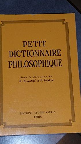 Petit dictionnaire philosophique
