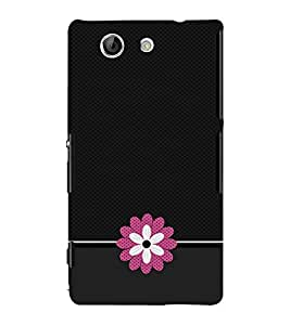 Floral Design 3D Hard Polycarbonate Designer Back Case Cover for Sony Xperia Z4 Mini :: Sony Xperia Z4 Compact