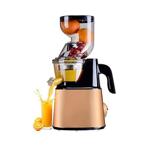 RMXMY Máquina de zumos de Gran Calibre para Uso en el hogar, más función, Fruta y verdura...