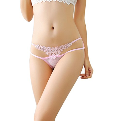 Trasparente Cintura Slip,Harrystore Donna Pizzo Comfort Traspirante Intima (Vita Cintura Di Panty)