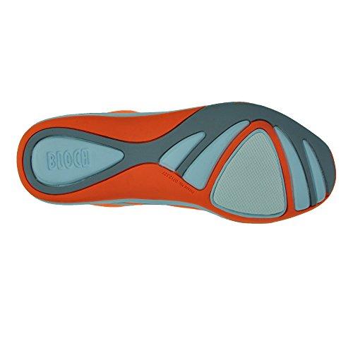 NEW Bloch 925 Elemento di ballo Sneaker Arancione