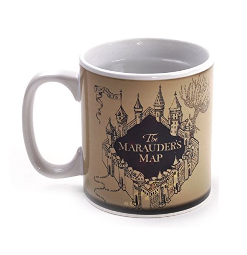Harry Potter Colour Changing Marauder's Map Mug