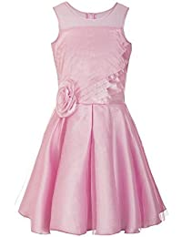 Naughty Ninos Girls' Pleated Knee-Long Dress