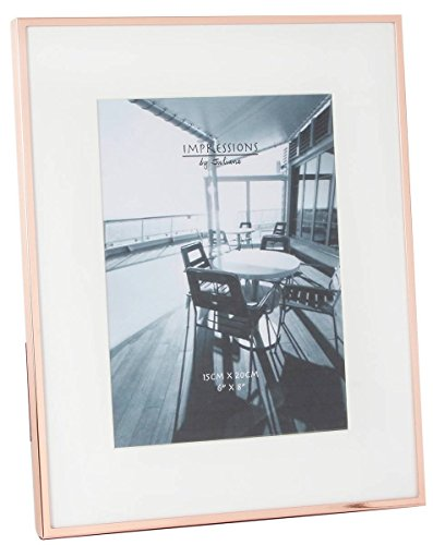 Rose Gold Impressions Copper Plated Photo Frame 6x8 By Juliana