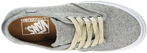 Vans - Camden Deluxe, Scarpe da ginnastica Donna Grigio (Heather Felt Gray)