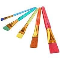 Frcolor 5 Pinceles de Pintura Pinceles de Pintura Arte Conjunto de Herramientas de Pintura para la Pintura de Acuarela aguada Aceite