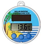 Digital Schwimmendes Solar Pool Teich Thermometer