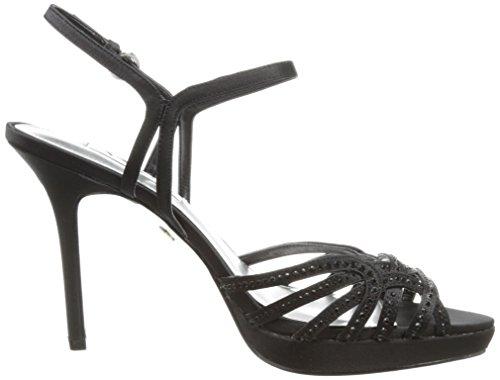 Nina Flirty Textile Sandale Black Luster