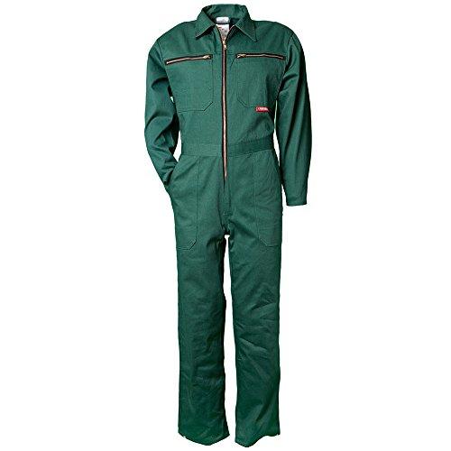 Planam 129024 - Tuta da lavoro, taglia M, colore: verde, verde, 129062