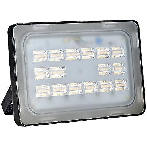[Reflector Llevado Blanco/ Blanco Cálido] Vitreum 10w 20w 30w 50w 150w 200w 250w Foco LED Proyector Reflector de Pared Proyectores Puntos Floodlight 6F