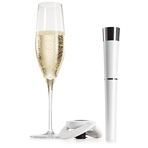 zzysh Sektflaschenverschluss System mit Argon Gas und CO2 von zzysh – damit Champagner und Sekt auch nach dem Öffnen lange frisch und prickelnd bleiben