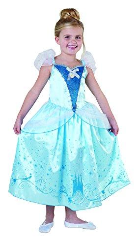 Kostüm Princess Ruby - Rubies Disney Princess Cinderella Royale Mädchen Kostüm Fasching Karneval: Größe: L
