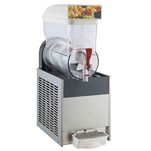 Gratis Lieferung gewerblichen Küche Getränk Equipment 1 x 15L Tank margarita Frozen Drink macht Maschine Ice Slush Maschine Frozen Drink Kühlung Becher für Maschine Kühlung Becher für