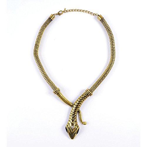 Bristol Novelty ba1008Schlange Halskette, Damen, one -