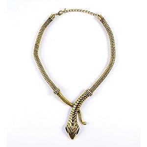 Bristol Novedad BA1008 Snake Collar, Mujer, Talla Única