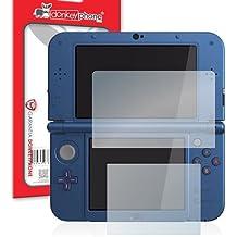 Donkeyphone - 2x PROTECTOR DE PANTALLA FILM TRANSPARENTE ULTRA CLEAR FLEXIBLE PARA CONSOLA NINTENDO NEW 3DS XL / 3DS XL / NEW 2DS XL (2 piezas)