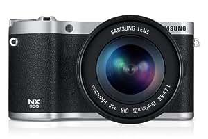 Samsung 300 + 18-55mm Appareil Photo Numérique Compact 20.3 Mpix Wi-Fi Noir
