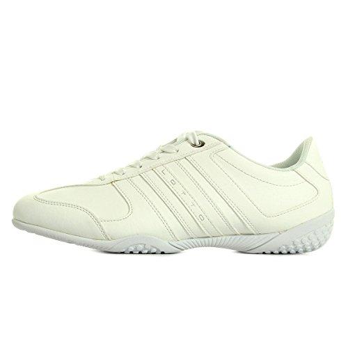 Lotto Panama Vii Lth, Chaussures de Sport Homme Blanc Cassé - Blanco (Wht)