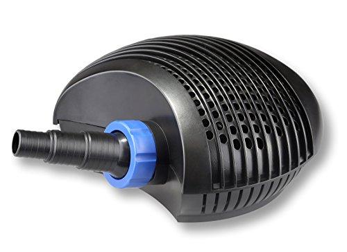 Pompa per stagni sunsun ctf 8000 supereco l h 70w for Teli per stagni