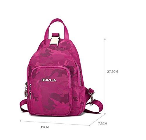 Nylon Mode casual kleiner Rucksack/ Mini-Chest Pack/ Reise-Rucksack-A A