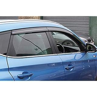 Autoclover Hyundai Tucson 2015+ Windabweiser-Set, 4-teilig (geräuchert)