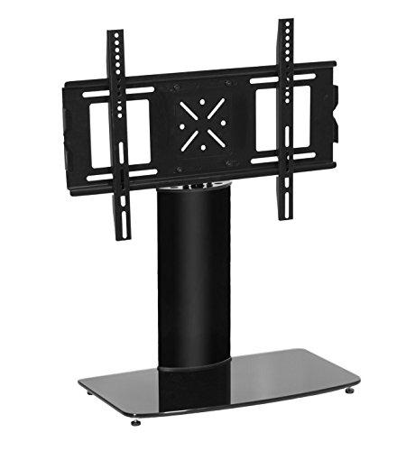 "MMT Universal soporte de TV Pedestal Negro replacement| 32""-50inches| perfecto para soporte de LCD/Plasma/LED TV screens| compatibilidad W/LG, Samsung, Toshiba & more| Max peso 30kg| giratorio action-max comodidad"