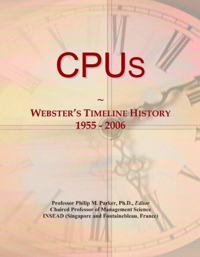 Preisvergleich Produktbild CPUs: Webster's Timeline History, 1955-2006