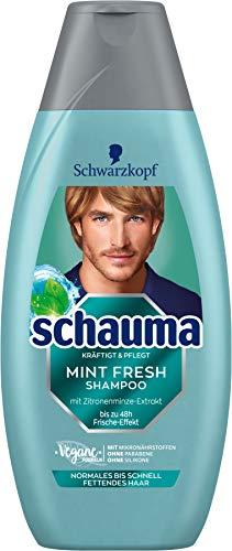 Schwarzkopf Schauma Shampoo Mint Fresh, 1er Pack (1 x 400 ml)