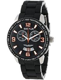Sector Herren-Armbanduhr Analog Quarz Edelstahl R3273619001