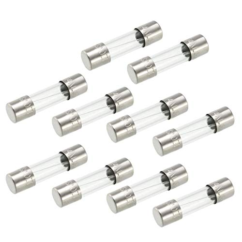 4 Time Delay Fuse (ZCHXD Slow Blow Glass Cartridge Fuse Tube Time Delay Fuse 5mm x 20mm 250V 4A UL Listed 10Pcs)