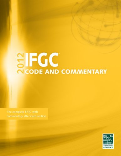 2012 International Fuel Gas Code Commentary (International Code Council Series) by International Code Council (2012-03-26)