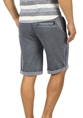 BLEND Jonny Herren Sweat-Shorts kurze Hose Sport-Shorts aus hochwertiger Baumwollmischung Meliert Ebony Grey (75111)