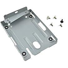 FiveSeasonStuff® Festplatte Einbau Rahmen HDD Halterung Super Slim / Montagehalterung für Festplattenlaufwerk für PS3 System CECH-400x Serie