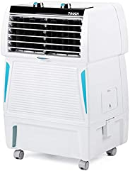 Symphony Touch 20 Personal Room Air Cooler 20-litres, Honeycomb Pad, Fully Closable Louvers, Removable Tank, M