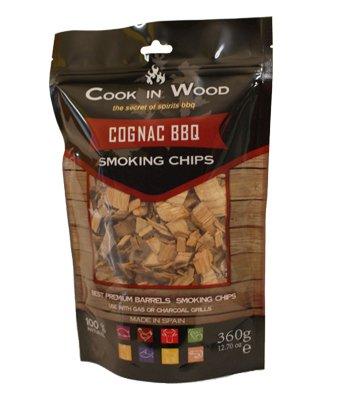 Cook en bois Cognac BBQ Chips 360 g