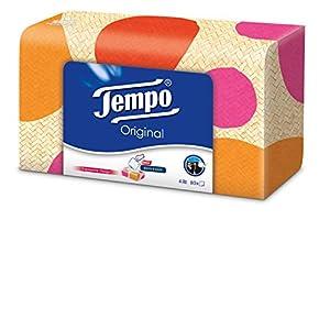 Tempo Taschentücher Box, 3er Pack (3 x 80 Stück)
