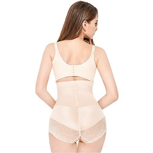 Nvshoushen donna shapewear,per donna a vita alta mutande di controllo,shapewear sexy intimo snellente postpartum addome sottile hips pizzo boxer corpo formatori per signore,l
