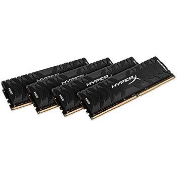 HyperX Predator - Memoria RAM de 64 GB (DDR4, Kit 4 x 16 GB, 3000 ...