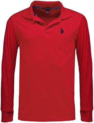 Mens Us Polo Assn Long Sleeve Polo Shirt | Top