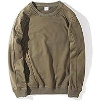 Los japoneses hombres Camisetas sudaderas con capucha Sudadera Camiseta Capucha personalidad,Ejército Verde,M