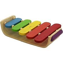 PlanToys - Xilófono ovalado, juguete con sonido (6405)