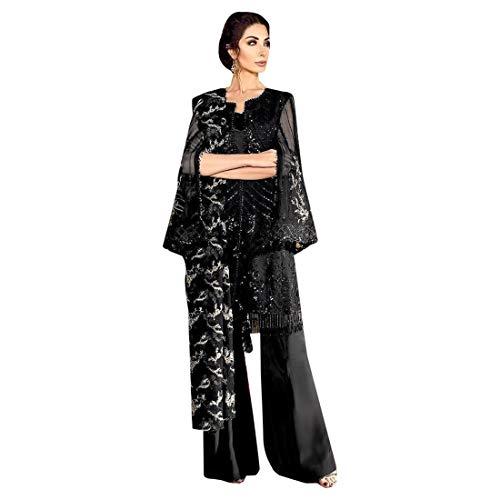 d6f494d2d0 Designer Abito da cocktail pakistano Heavy Net con ricamo Salwar Kameez  abito da sera musulmano indiano