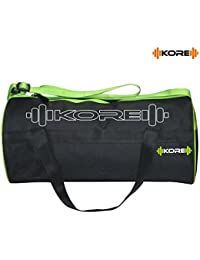 Kore Storm-3.1 Gym Bag With One Side Ventilated Mesh And Carry Handels (Green/Black)
